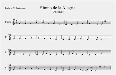 Ludwig van Beethoven   Himno de la Alegría | Partituras ...