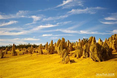 Lugares increíbles. El desierto de los pináculos de ...