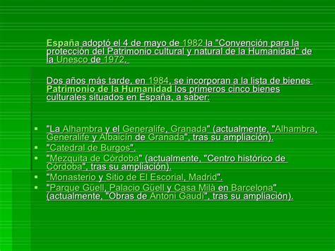 Lugares  Patrimonio de la Humanidad  en España... por ...