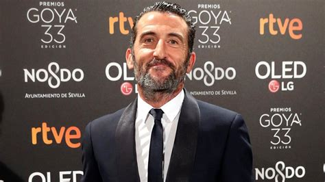 """Luis Zahera, en los Premios Goya 2019: """"Las primeras veces ..."""