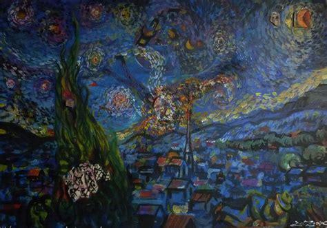 Luis Zenko arte: Exposicion Homenaje a Van Gogh