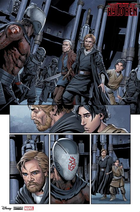 Luke Skywalker Unites with Lor San Tekka and Ben Solo in ...