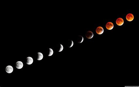 Lunar Eclipse 4K HD Desktop Wallpaper for 4K Ultra HD TV ...