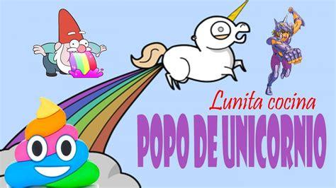 Lunita cocina sola: Popo de unicornio!!   YouTube