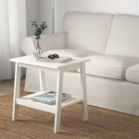 LUNNARP Mesa auxiliar, blanco, 55x45 cm   IKEA