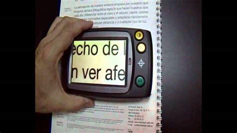 Lupa Digital HANDY 4.3  para Personas con Baja Visión ...