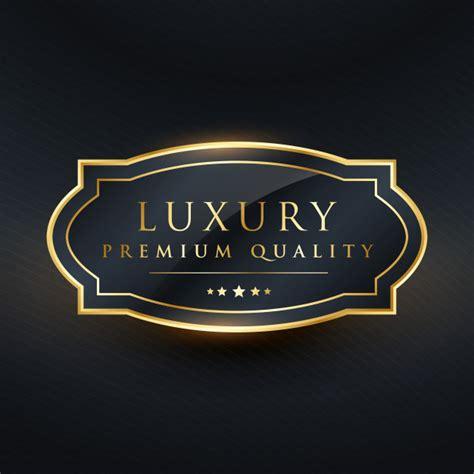 Luxury premium quality label design   Free Vector