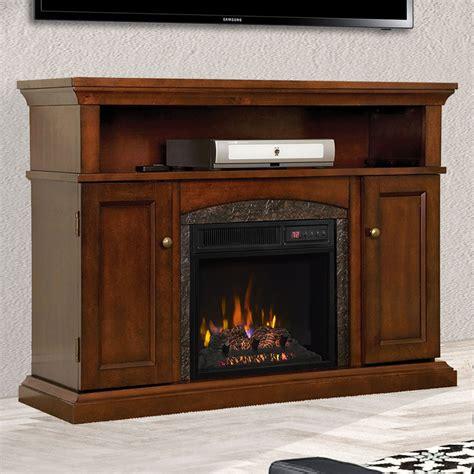 Lynwood Cabinet Vintage Cherry & 18  Firebox   18MM4105 ...