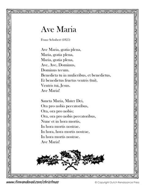 Lyrics Ave Maria Latin Translation   dagorcontent