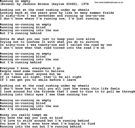 Lyrics Running   SEONegativo.com