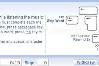 Lyrics Training Download para Web Grátis