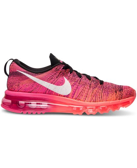 Lyst   Nike Women s Flyknit Air Max Running Sneakers From ...