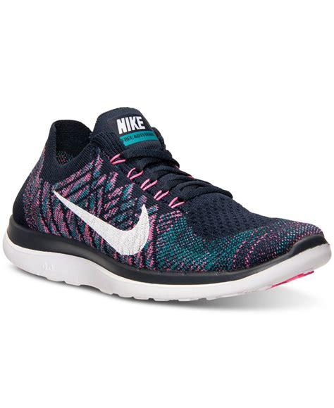 Lyst   Nike Women s Free Flyknit 4.0 Running Sneakers From ...