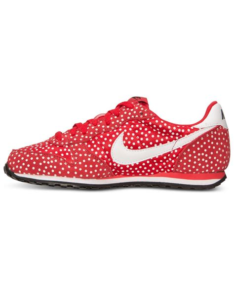 Lyst   Nike Women S Genicco Print Casual Sneakers From ...