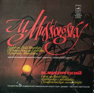 M. Mussorgsky*, USSR State Academic Symphony Orchestra ...
