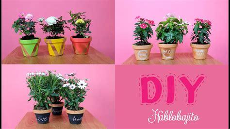 Macetas bonitas / ideas para decorar fáciles   Hablobajito ...
