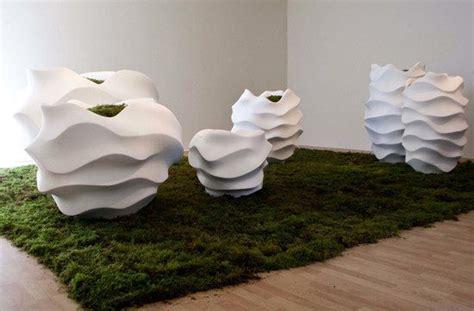 Macetas de hormigón, diseño de Marie Khouri | Fundació Ilersis
