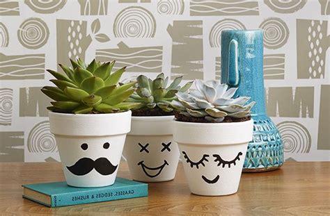 Macetas decoradas 5 ideas fáciles y baratas para hacer en ...