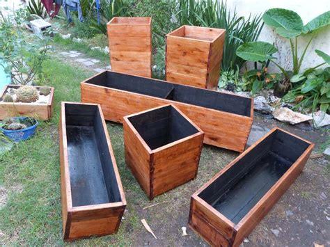macetero madera   Buscar con Google | Garden boxes diy ...