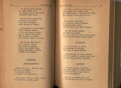 Machado, Antonio. Poesías Completas. 1956.   $ 70.00 en ...