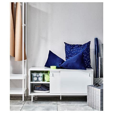 MACKAPÄR Banco+compartimentos   blanco 100x51 cm en 2020 ...