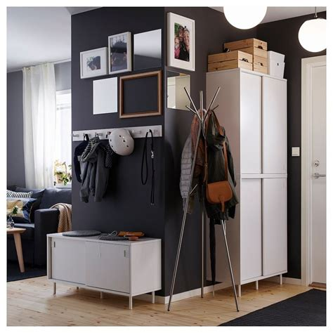 MACKAPÄR Banco+compartimentos, blanco   IKEA | Recibidores ...
