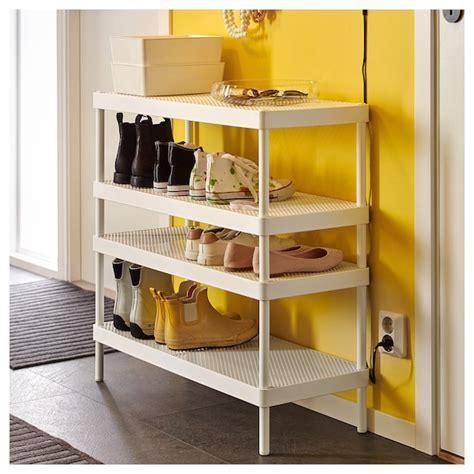 MACKAPÄR Shoe rack, white, 78 cm   IKEA