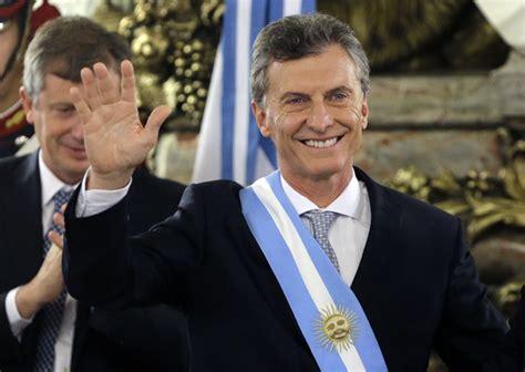Macri asume como Presidente de Argentina: Fotos de su ...
