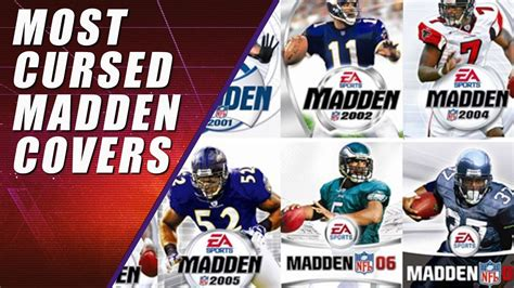 Madden Curse: The 5 Most Cursed Players   YouTube