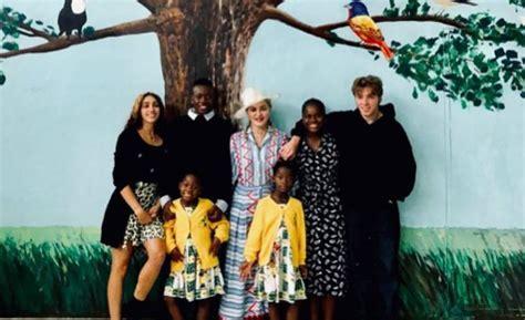 Madonna transmite a sus hijos su vertiente solidaria ...