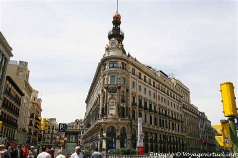 Madrid Calle de Alcalá, Banco de Crédito Espana   España