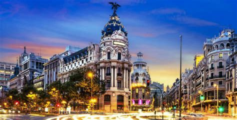 Madrid, capital de España y un referente turístico cinco ...