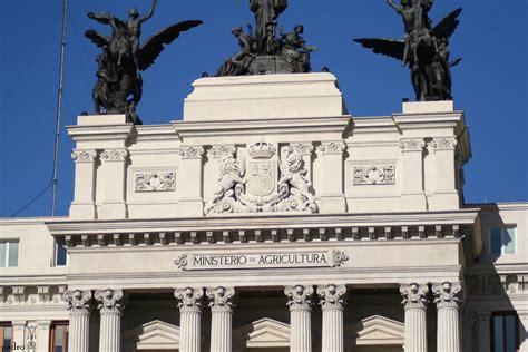 MADRID: EDIFICIO MINISTERIO DE AGRICULTURA