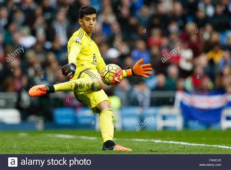 Madrid, Spain. 30th Dec, 2015. Geronimo Rulli  1  Real ...