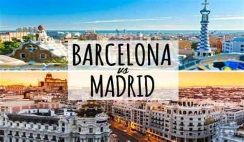 Madrid vs Barcelona ¿Qué ciudad mola más?   Barcelona Secreta
