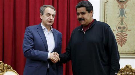 Maduro recibe a Rodríguez Zapatero en el palacio ...