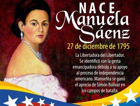 Maduro recuerda a Manuela Sáenz, la combatiente que luchó ...