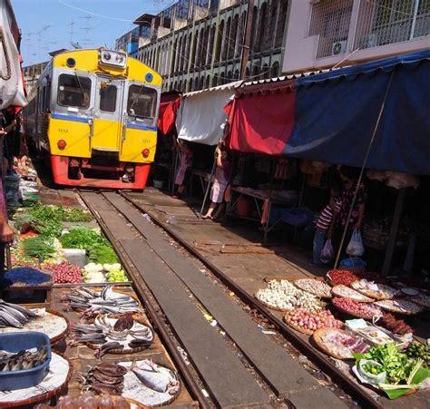 Maeklong Railway Market   Taxi Service from Bangkok to all ...