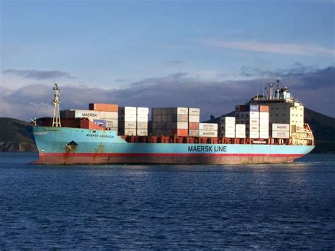 Maersk Shipping Line Tracking System