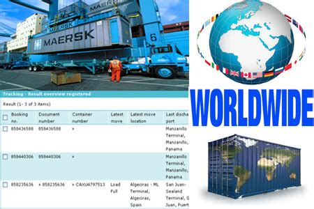 MAERSK Tracking   Online MAERSK Container Track & Trace Status