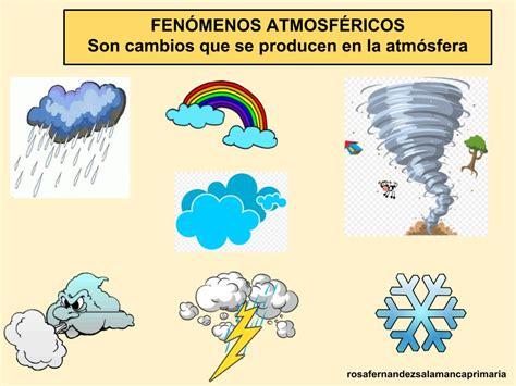 Maestra de Primaria: La atmósfera. Fenómenos atmosféricos ...