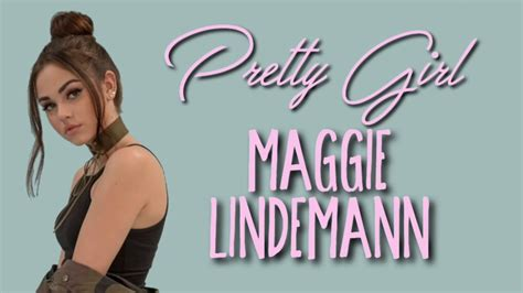 Maggie Lindemann   Pretty Girl  Lyrics    YouTube