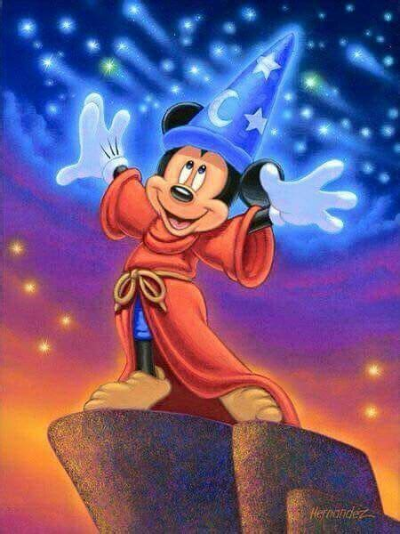 Magical Mickey | Mickey mouse wallpaper, Fantasia disney ...