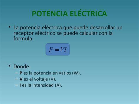 Magnitudes eléctricas   Monografias.com