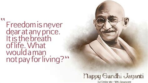 Mahatma Gandhi Famous Quotes With Images   MagMent