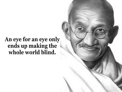 Mahatma Gandhi Peace Quotes Wallpapers