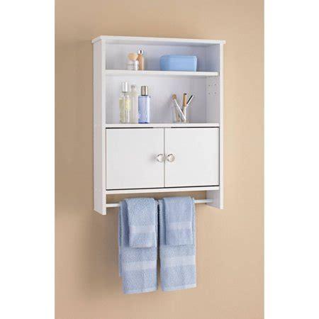 Mainstays 2 Door Bathroom Wall Cabinet, White   Walmart.com