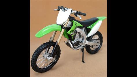 Maisto 1/12 Kawasaki KX 450F Moto Juguete Para Niños   YouTube