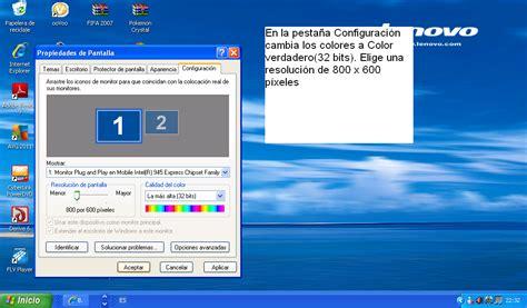 _MaJoGarcía_: Configuración de la Pantalla