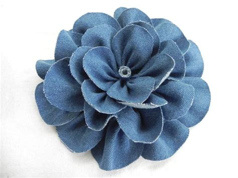 Make Denim Flowers for Crafts and Fashion From Old Jeans